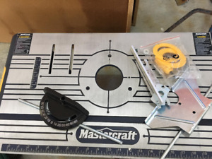Mastercraft Router Table
