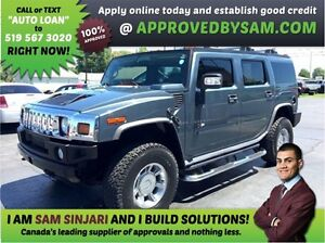 HUMMER H2 - APPLY WHEN READY TO BUY @ APPROVEDBYSAM.COM