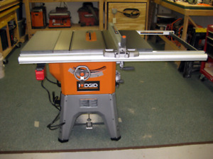 ISO rigid table saw. R4512 or older model