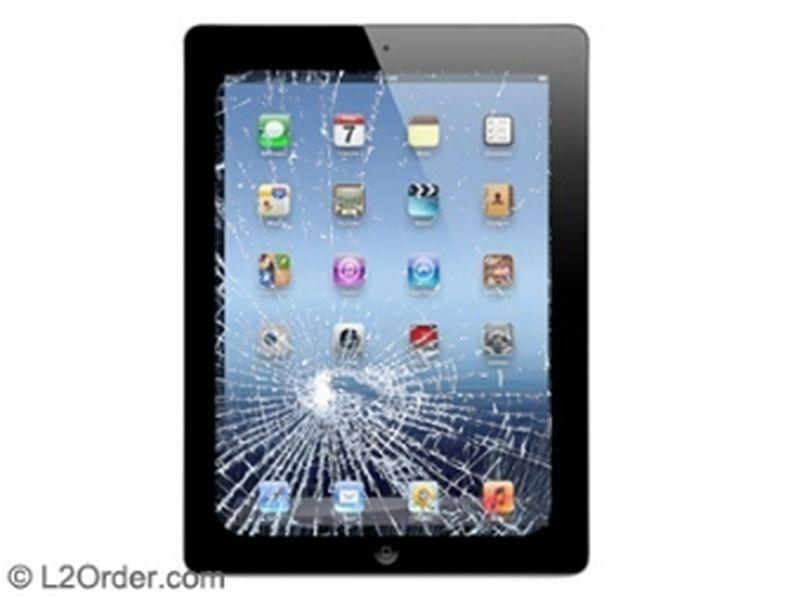 Apple Ipad 3 Broken Digitizer Touch Screen Glass Repair Replacement Service