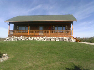 A Beautiful Log House For Rent