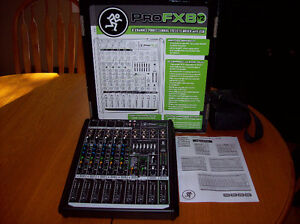 Brand New Mackie 8 Channel mixer with USB and recording software