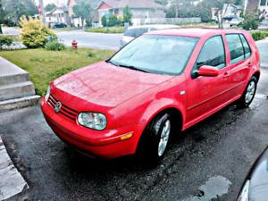 Volkswagen Golf 2.0L 2005 ** 82 000km** MANUELLE