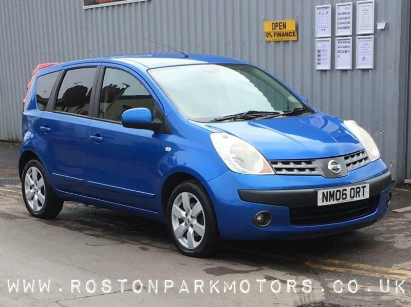 2006 Nissan Note 16 Sve 5dr Very Clean New Mot Full History In