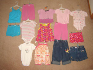 Summer and Winter Clothes, Dresses - 18, 18-24, 24m sz 2 / Shoes