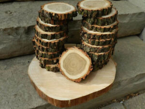 Wood Cup Coasters / Wood Centrepieces
