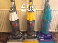 DYSON DC07 FULLY SERVICED MINT CONDITION FREE SET OF PERFUMED FILTERS 2