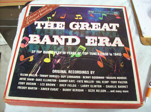 RECORD COLLECTION THE GREAT BAND ERA BOXED