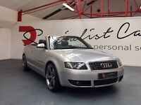 AUDI S4 4.2 CONVERTIBLE [OUTSTANDING EXAMPLE / FULL SERVICE HISTORY / FANTASTIC SPEC]