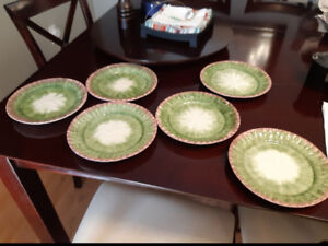 Fritz and Floyd Asparagas plates and soup tureen