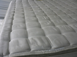 Pillow Top Queen size mattress and Boxspring