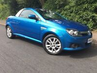 CONVERTIBLE - 2005 VAUXHALL TIGRA - 1 YEARS MOT - CLEAN - COLD AIR CON