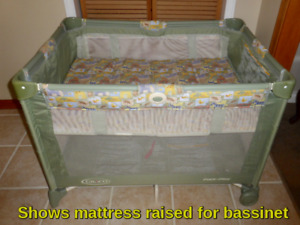 Graco Pack N Play Playpen With Optional Bassinet