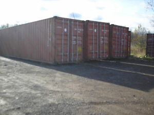 SPRING SPECIAL,used 40' Storage containers For Sale