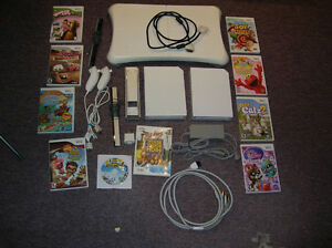 Wii Console 2 console & Games Lot