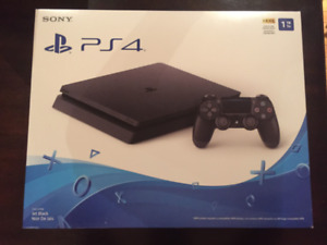 BRAND NEW PS4 1TB FOR SALE