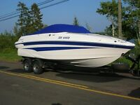 Low Hours Fresh Water Boat. Don't miss this deal before storage.