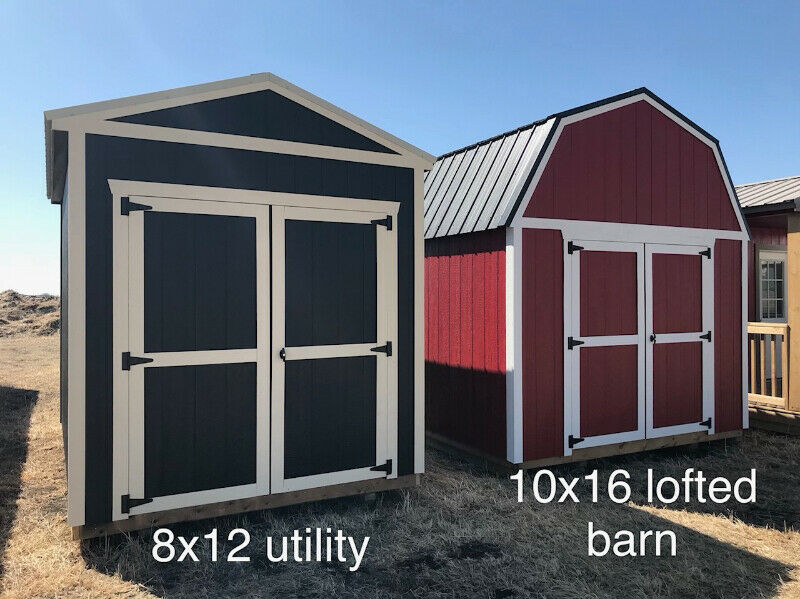 Storage Sheds and Garages by Premier Portable Buildings ...