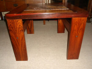 MCM Rosewood Side Table