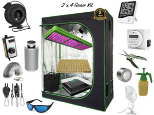 2 x 4 COMPLETE Grow Kit - Used for Hydroponics & Soil