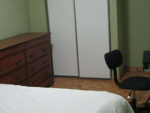 Room for rent in a 2nd floor house.