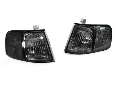 DEPO Smoke Lens Front Corner Lights Pair For 1990-1991 Honda CRX LH + RH US Spec