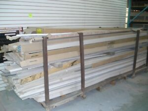Assorted Old Stock Vinyl and Aluminum Siding, Soffit and Trims