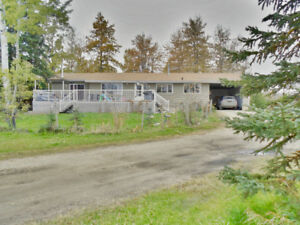 Acreage with pavement to your driveway