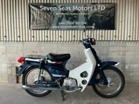 1986 JDM Honda Super Cub C70 square headlight