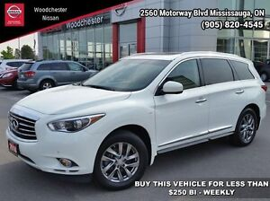2014 Infiniti QX60 Base   - Heated Seats - $273.60 B/W