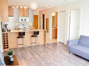 Yaletown June 17 : 1 br + 1 bath + 1 Flx, Unfurnished Very Clean
