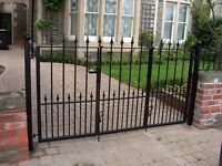 Brand new wrought info bifold img driveway gates various sizes available