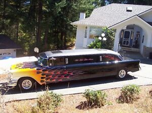 1956 CHEVROLET LIMO  The Hot Licks Limo is for sale