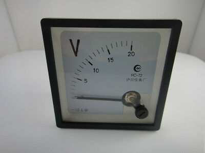 New Analog Volt Panel Meter Dc 020v