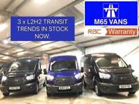 FORD TRANSIT TREND 2.2TDCi 125PS L2H2 MEDIUM MWB METALLIC BLUE LOW MILEAGE