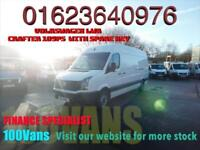 VOLKSWAGEN CRAFTER 2.0TDi 109PS CR35 LWB IN WHITE A STUNNING VAN