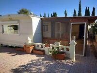 Static caravan for sale in Mojacar, Spain