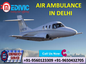 Select Exigency Round the Clock Service Air Ambulance from Delhi