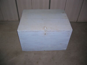wood storage crate