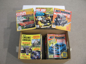 Collection of Car Craft,Hot Rod,Popular Hot Rodding,Super Chevy
