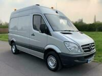 939389a370 2012 Mercedes-Benz Sprinter 2.1TD 313CDI 130Bhp SWB High Roof Silver Van