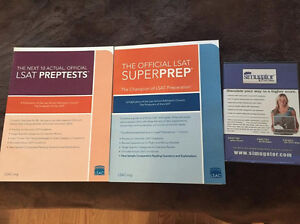 LSAT Books and Simugator for a higher score