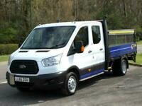 2016 Ford TRANSIT DROPSIDE 2.2 TDCi 100ps 350 Double Cab Dropside DRW with A/C C