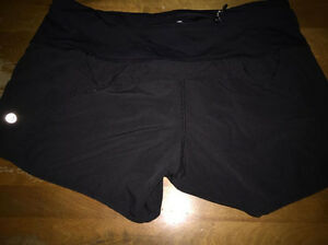 LULU LEMON SHORTS $50