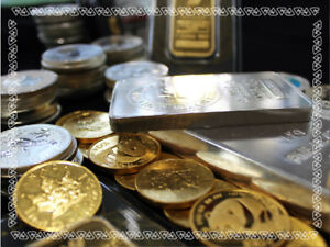 We Pay Cash For Precious Metals & Bullion!