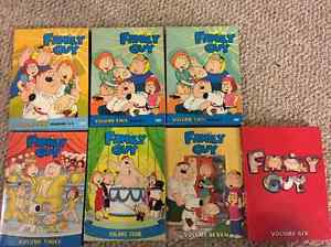 Family Guy Seasons on DVD