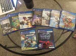 PS4 Games (Various Games/Various Prices)