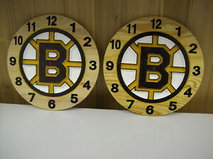 NHL clocks or anything you want on it all maple clock Cornwall Ontario image 5
