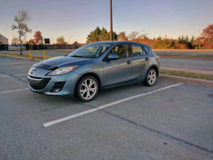Blue Mazda3 GX Hatchback (2010) Winter Tires Available