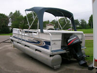 GREAT ALL AROUND PONTOON BOAT-MERC 40 4 STROKE